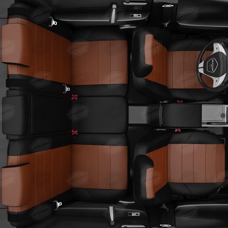 Чехлы для сидений экокожа Renault Koleos C 2008-2019